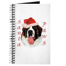 Santa Paws Saint Bernard Journal
