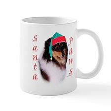 Santa Paws Sheltie Mug