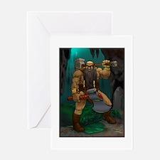 Dwarven Adventurer Greeting Card