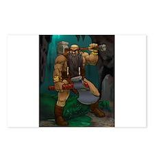Dwarven Adventurer Postcards (Package of 8)
