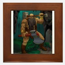 Dwarven Adventurer Framed Tile