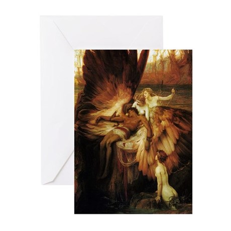 Mourning of Icarus Greeting Cards (Pkg 6)