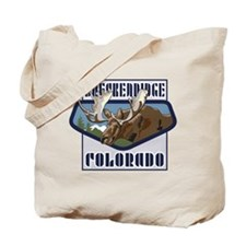 Breckenridge Mountaintop Moose Tote Bag
