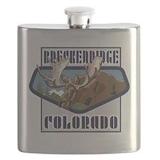 Breckenridge Mountaintop Moose Flask