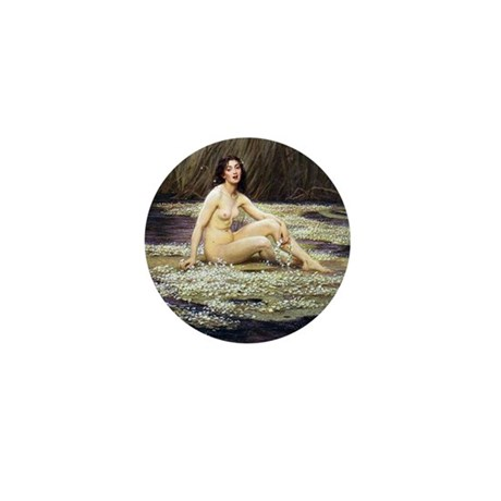 Water Nymph Mini Button (100 pack)