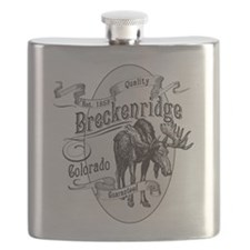 Breckenridge Vintage Moose Flask