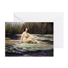Water Nymph Greeting Cards (Pkg 6)