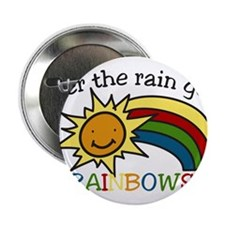 "Rainbows 2.25"" Button"