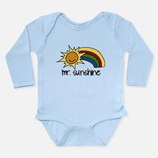 Mr. Sunshine Long Sleeve Infant Bodysuit
