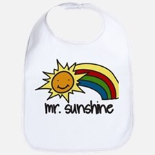 Mr. Sunshine Bib
