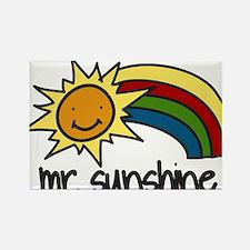 Mr. Sunshine Rectangle Magnet