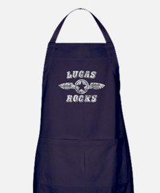 LUCAS ROCKS Apron (dark)