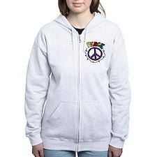 Peace Zip Hoodie