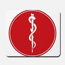 Rod of Asclepius Seal Mousepad