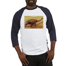 Pinacosaurus Dinosaur (Front) Baseball Jersey