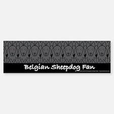 Belgian Sheepdog Fan Bumper Bumper Bumper Sticker
