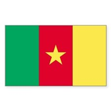 Cameroon Rectangle Decal