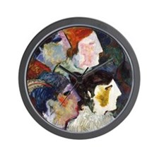 """""""The Audience"""" Wall Clock"""