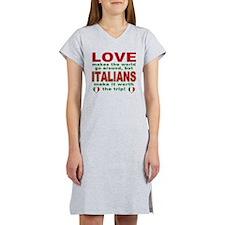 Italian Pride Women's Nightshirt