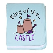 King Of The Castle baby blanket