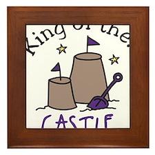 King Of The Castle Framed Tile
