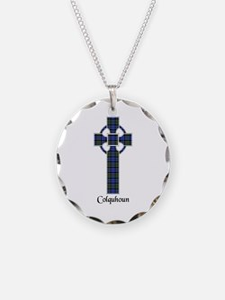 Cross - Colquhoun Necklace Circle Charm