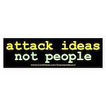 Attack Ideas 10x3.jpg Sticker (Bumper 10 pk)