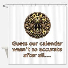 mayan calendar not so accurate vertical Shower Cur