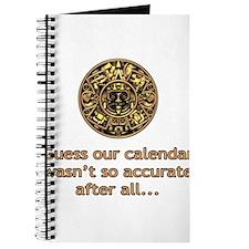 mayan calendar not so accurate vertical Journal