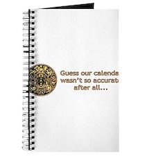 mayan calendar not so accurate horizontal Journal