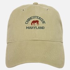 Chincoteague Island MD - Ponies Design. Baseball Baseball Cap