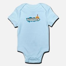 Chincoteague Island MD - Surf Design. Infant Bodys