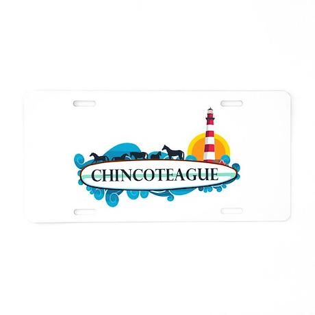 Chincoteague Island MD - Surf Design. Aluminum Lic