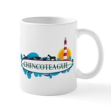 Chincoteague Island MD - Surf Design. Mug