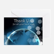 Thank you Business Administration Greeting Card