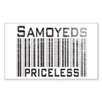 Samoyeds Rectangle Sticker