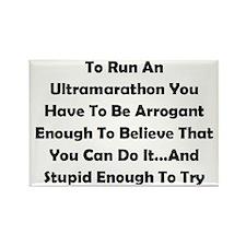 Ultramarathon Saying Rectangle Magnet