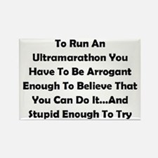 Ultramarathon Saying Rectangle Magnet