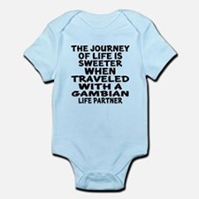Traveled With Gambian Life Partner Infant Bodysuit