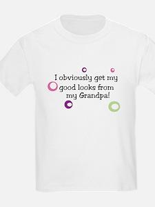 I get my good looks from my Grandpa T-Shir T-Shirt