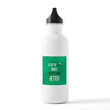 Tea Makes Everything Better Water Bottle