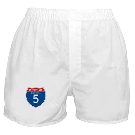 Interstate 5 - CA Boxer Shorts