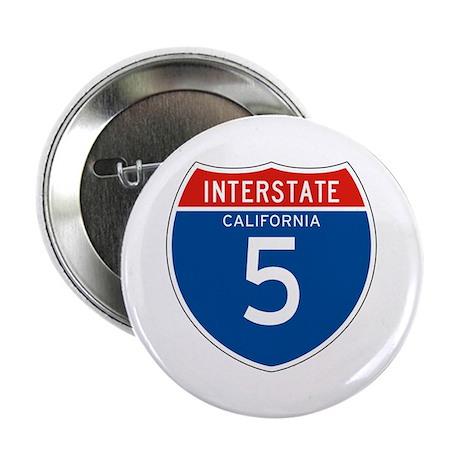 "Interstate 5 - CA 2.25"" Button (100 pack)"