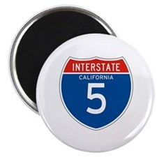 Interstate 5 - CA Magnet