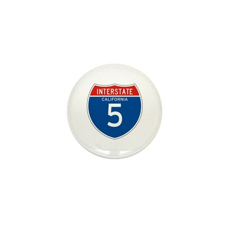 Interstate 5 - CA Mini Button (100 pack)