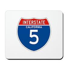 Interstate 5 - CA Mousepad
