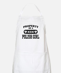 Property of a Polish Girl BBQ Apron
