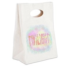 Twilight Pink Ice by Twibaby Canvas Lunch Tote