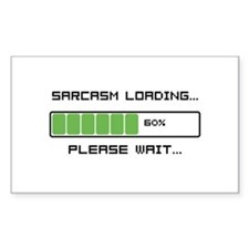 Sarcasm Loading Decal
