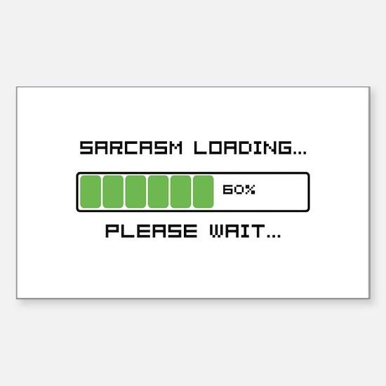 Sarcasm Loading Sticker (Rectangle)